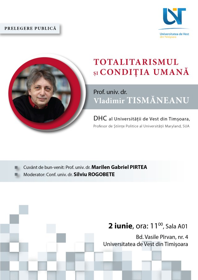 Afis Tismaneanu A -01