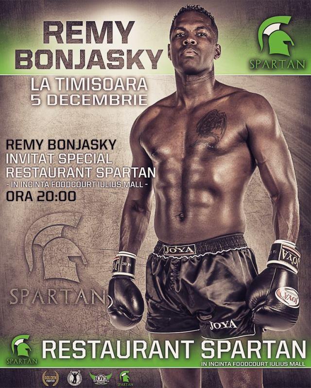 Remy Bonjansky la Spartan