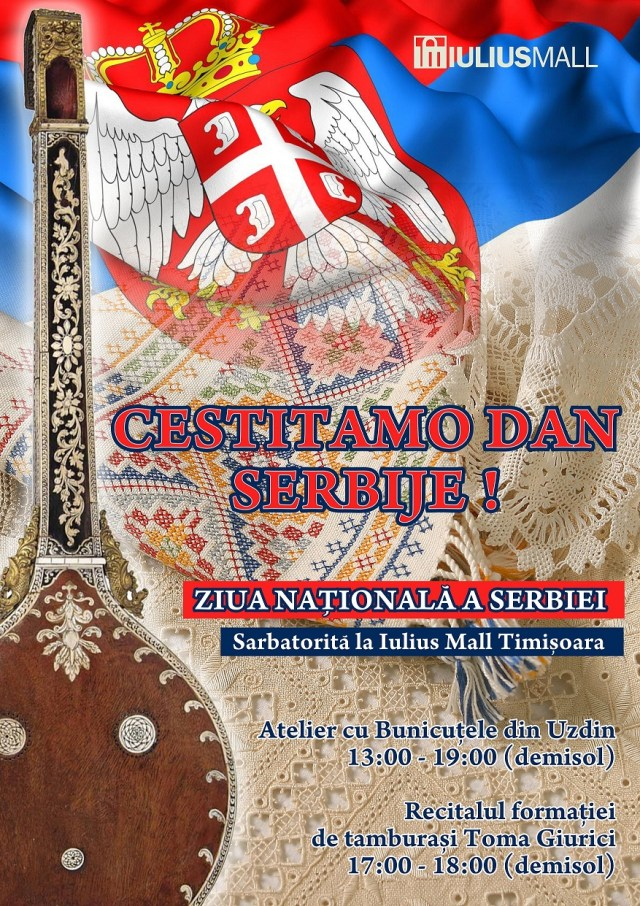 Ziua Serbiei la Iulius Mall