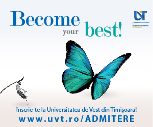 Universitatea de Vest Timisoara Admitere 2018