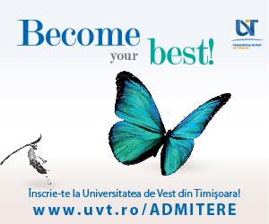 Universitatea de Vest Timisoara Admitere 2018