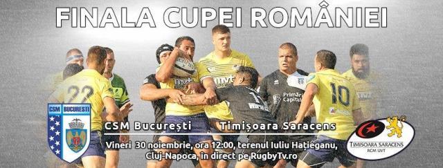 Timisoara Saracens, finala Cupei Romaniei
