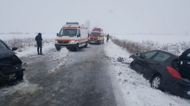 Accident Cheveresu Mare