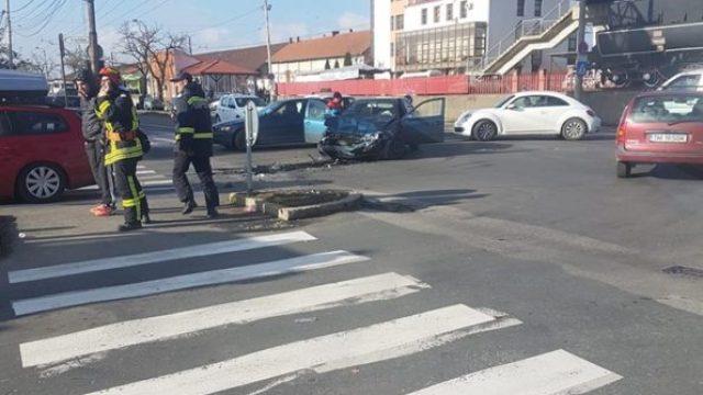 accident Gara Timisoara