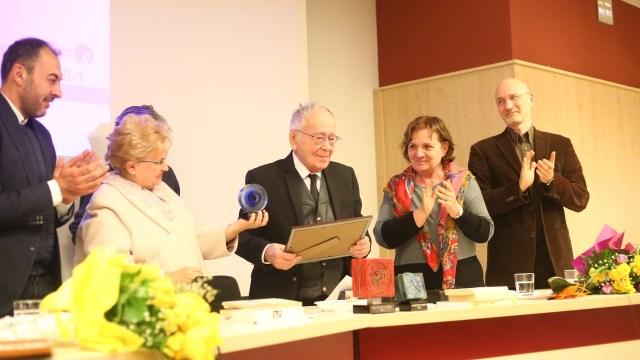 Mihai Șora, la premiile Societății Timișoara