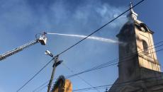 Incendiu la biserica din Șuștra