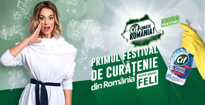 Festival de curățenie la Timișoara. Feli dă tonul!