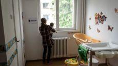 refugiata cu copil