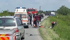 Accident rutier lângă Ineu