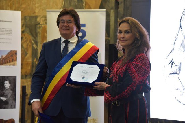 Ştefan Szönyi a primit, post-mortem, titlul de cetăţean de onoare al Timişoarei