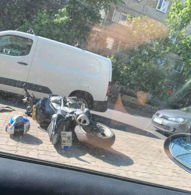 Accident rutier, Calea Circumvalațiunii. Sursă foto: Info trafic jud. Timiș
