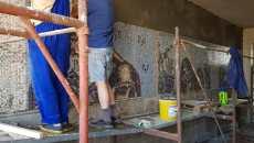 Pasajul pietonal din Gara de Nord, îmbrăcat în peste 50.000 de piese de mozaic