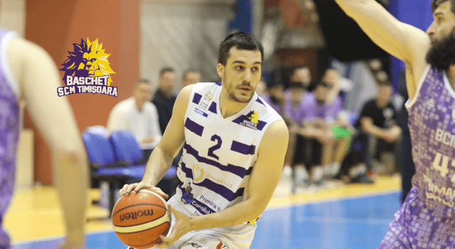 Nikola Pesovic rămâne la SCM Timișoara