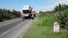 Pe drumul dintre Timişoara şi Săcălaz au demarat lucrări importante de reparaţii
