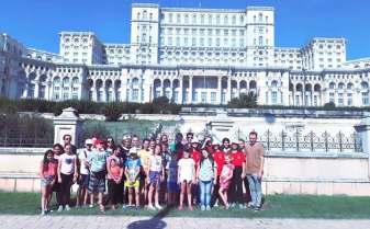 Cor de copii de la școli din Timișoara, la Festivalului Internațional George Enescu de la București