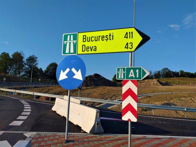 Autostrada Lugoj - Deva, loturile 3 si 4, aproape gata