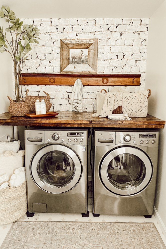 Countertop Over Your Washer And Dryer