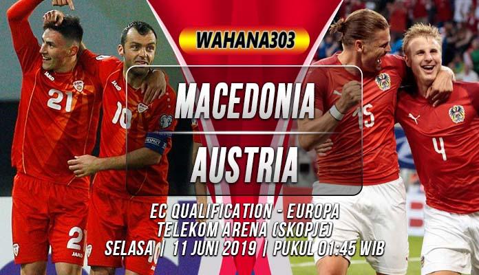 Prediksi Macedonia vs Austria