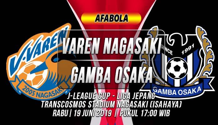 Prediksi Varen Nagasaki vs Gamba Osaka