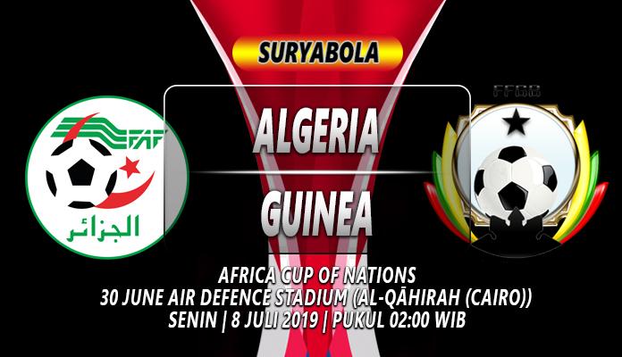 Prediksi Algeria vs Guinea