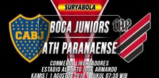 Prediksi Boca Juniors vs Athletico Paranaense
