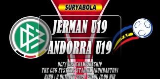 Prediksi Jerman U19 vs Andorra U19 9 Oktober 2019