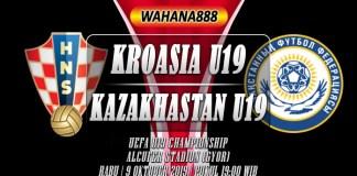 Prediksi Kroasia U19 vs Kazakhstan U19 9 Oktober 2019