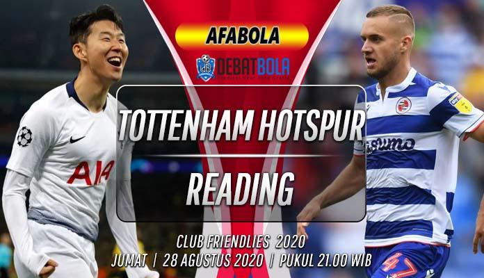 Prediksi Tottenham Hotspur vs Reading 28 Agustus 2020