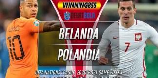 Prediksi Belanda vs Polandia 5 September 2020