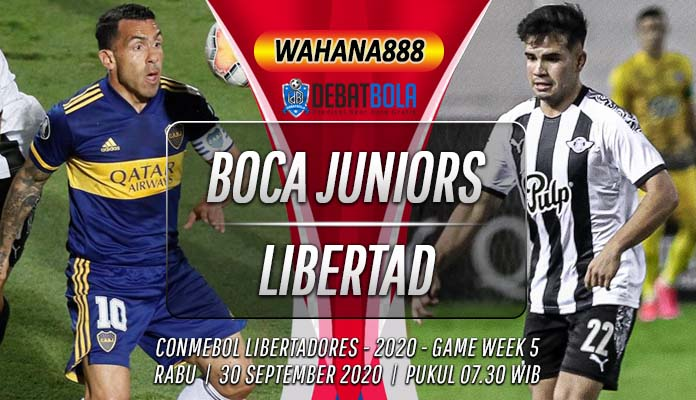 Prediksi Boca Juniors vs Libertad 30 September 2020