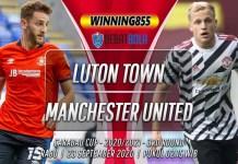Prediksi Luton Town vs Manchester United 23 September 2020