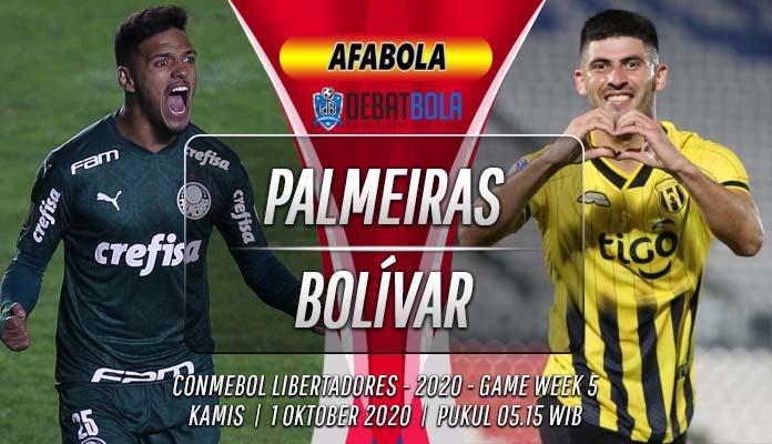 Prediksi Palmeiras vs Bolívar 1 Oktober 2020