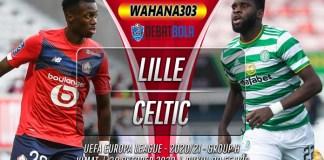 Prediksi Lille vs Celtic 30 Oktober 2020