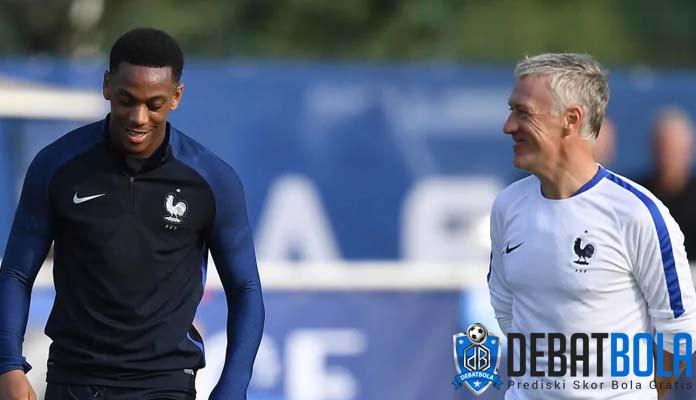 Hubungan Baik Didier Deschamps Dengan Anthony Martial
