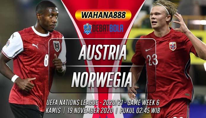 Prediksi Austria vs Norwegia 19 November 2020