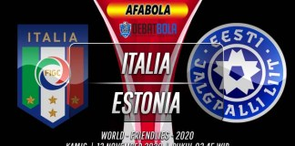 Prediksi Italia vs Estonia 12 November 2020