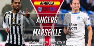 Prediksi Angers vs Marseille 24 Desember 2020