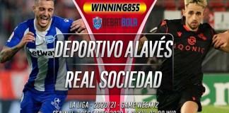Prediksi Deportivo Alavés vs Real Sociedad 7 Desember 2020