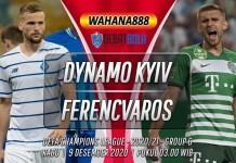Prediksi Dynamo Kyiv vs Ferencvaros 9 Desember 2020
