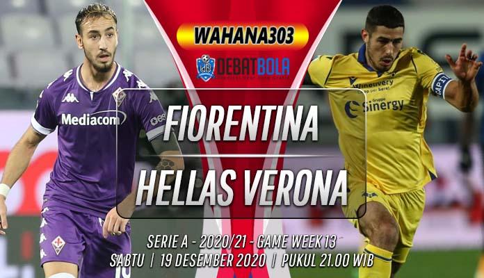 Prediksi Fiorentina vs Hellas Verona 19 Desember 2020
