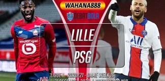 Prediksi Lille vs PSG 21 Desember 2020