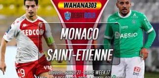 Prediksi Monaco vs Saint-Etienne 24 Desember 2020