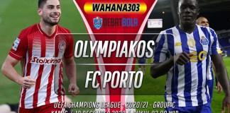 Prediksi Olympiakos vs Porto 10 Desember 2020