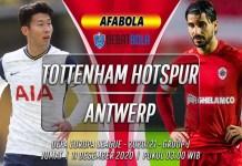 Prediksi Tottenham Hotspur vs Antwerp 11 Desember 2020