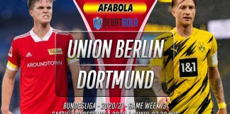 Prediksi Union Berlin vs Borussia Dortmund 19 Desember 2020