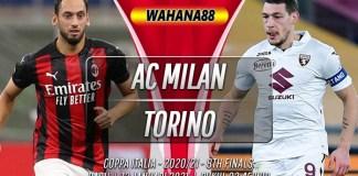 Prediksi AC Milan vs Torino 13 Januari 2021