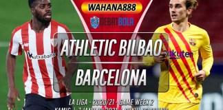 Prediksi Athletic Bilbao vs Barcelona 7 Januari 2021