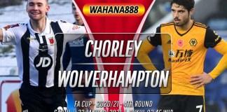 Prediksi Chorley vs Wolverhampton 23 Januari 2021