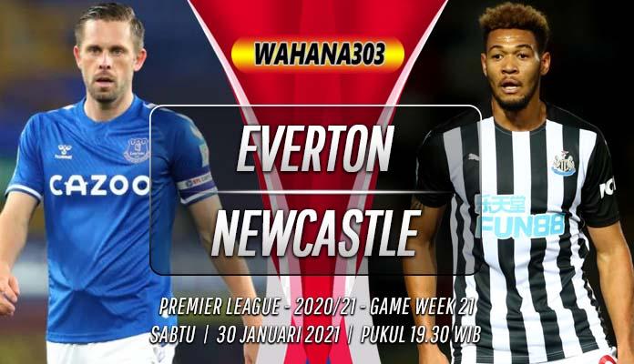 Prediksi Everton vs Newcastle United 30 Januari 2021