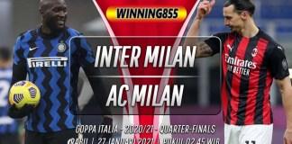 Prediksi Inter Milan vs AC Milan 27 Januari 2021